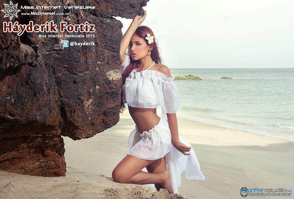 Hayderik Fortiz Miss Internet Venezuela