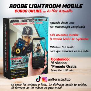 Curso de lightroom para movil